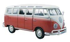 Maisto Volkswagen Samba Camper Van 1:24 Modelo a Escala de Metal Coche Clásico