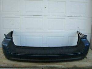 2005-2009 SUBARU LEGACY REAR LOWER BUMPER COVER BLACK 05 06 07 08 09 OEM