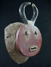 Art Africain - Authentique Masque de Danse Baoulé Goli Féminin - 46,5 Cms