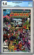 Crisis on Infinite Earths #9  CGC  9.4  NM  Off - white to wht pgs 12/85  Marv W
