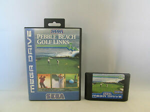 Sega Mega Drive / Genesis - Pebble Beach Golf Links