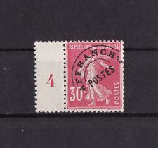 timbre France préoblitéré   semeuse  30c  rose    n° 59 **