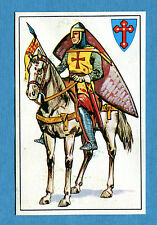 ARMI E SOLDATI - Edis 71 - Figurina-Sticker n. 129 - CAVALIERE CROCIATO -Rec