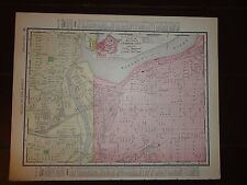Rand Mcnally Nyc Subway Map 1990.Rand Mcnally Co Antique North America City Maps For Sale Ebay