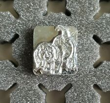 Vintage 3D Craftool Co USA Leather Tool Stamp, Puppy, Dog, 8419
