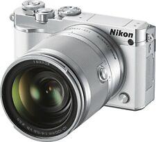 New! Nikon - J5 Mirrorless Camera with NIKKOR 10-100mm f/4-5.6 VR Lens White