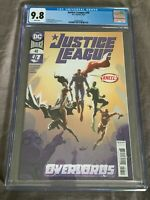 Justice League #48 CGC 9.8-NM-1st print-Si Spurrier-DC Comics-2020