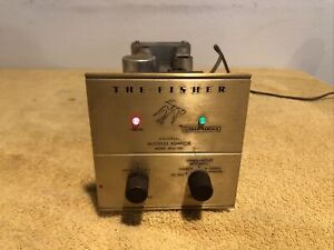 Vintage The Fisher MPX-100 Tube Universal Stereo Multiplex Adapter