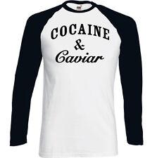 Cocaine And Caviar Mens Long Sleeve T-Shirt Cocain