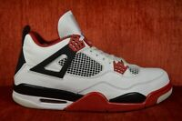new products 8d9df 13cc7 CLEAN Nike Air Jordan 4 IV Retro Fire Red 2012 White Black Size 11 308497  110