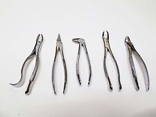 Tooth Extracting Forceps Best Quality Set of 5pc Dental Instrument Tasrou Brand