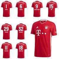 Adidas FCB FC Bayern München Trikot Home Heimtrikot 2020-21 Kinder Spieler Name