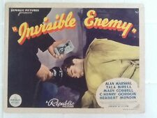 Invisible Enemy with Alan Marshal & Tala Birell  Republic Pictures 1936