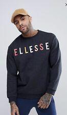 Ellesse Graues, übergrosses Sweatshirt mit Logo Gr.M