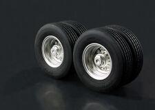 [Lesu]  1/14 Tractor semi-trailer W-2020 Small wheels Wheel (with tires) Tamiya