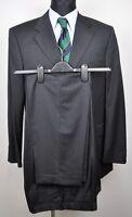 HUGO BOSS Suit Super 100's UK 40 Wool Blazer Pants W34 L32 Sakko 2 Pieces Anzug