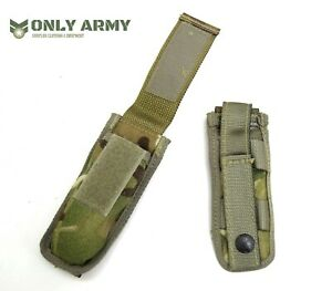 British Army Issue Pistol Magazine Pouch Knife Pouch Small MOLLE 9mm Mag Osprey