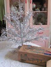 Vintage Northern Lights 2' Aluminum Hardwares Inc Christmas Tree
