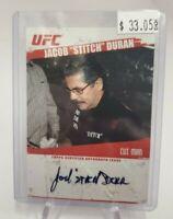 2009 Topps UFC Autographs #FAJD Jacob Stitch Duran