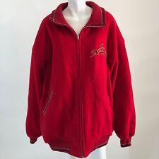 Avirex 5XL Wool Varsity Jacket Red Heroes & Legends Vintage All American Heavy