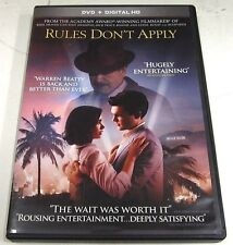 Rules Dont Apply (DVD, 2017)