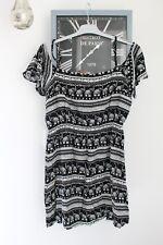 H & M Tunique noir et blanc T 38