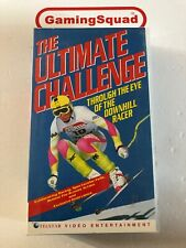 The Ultimate Challenge, Downhill Racer VHS Video Retro, Supplied by Gaming Squad