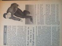 M8-9a ephemera 1966 picture London transport John baker skater