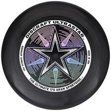 NEW DISCRAFT ULTRA-STAR 175g ULTIMATE FRISBEE DISC - BLACK