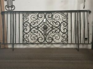 Beautiful Solid Metal railing 8 x 3 ft