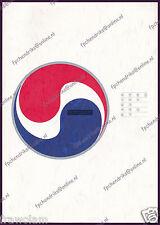 KOREAN AIR HISTORY BROCHURE 1969-1989, KOREAN 40 PAGES MINT 대한항공 20 년, 한국의