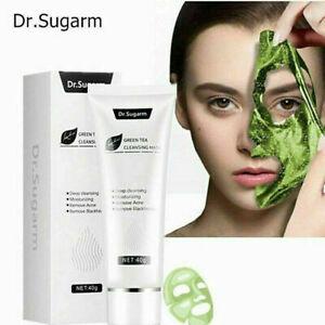 New Dr. Sugarm 40g Green Tea Blackhead Face Mask Skin Care Remove Acne Nose Deep