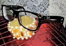 Unisex Eye wear Ray Ban Multi color Brown Trademark Frame Optical Lens Glasses