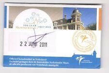 nederland coincard EERSTE DAG VAN UITGIFTE MUNTGEBOUW VIJFJE 2011