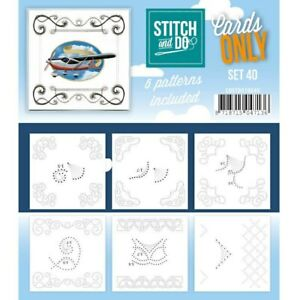Stitch and Do Card Stitching Cardlayers Only - Set 40