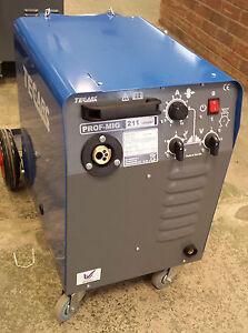 TECARC PROFMIG C211 COMPACT MIG WELDER - Built in the UK   (SHOP SOILED MACHINE)