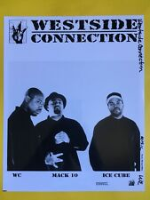 Westside Connection Press Photo 8x10, Ice Cube, Wc, Mack 10, 2003, Capitol