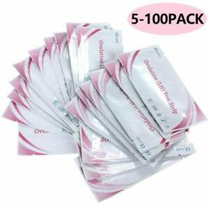 5/10/20/50/ Pcs Fertility Ovulation (LH) Test Strips Early Home Urine 10 Minutes