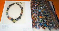 VENETIAN BEADS Book from Japan Japanese Murano Glass Beads #1045