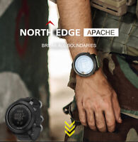 North Edge Apache Professional Men's Sports Military Digital Smart Watch