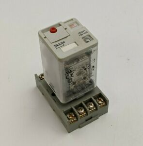 Dayton 1EGY1 Plug In General Purpose Relay 120V Coil Octal 8PIN DPDT 5X852E Base