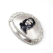 Alliage d'argent rebel révolution militaire che Guevara homme boucle de ceinture + boîte cadeau