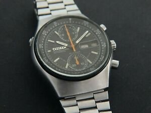 VTGE EARLY CITIZEN SPIDER 8110 CHRONOGRAPH. ALL ORIGINAL.SERVICED. 70s BEAUTIFUL