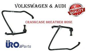 Audi & Volkswagen Crankcase Breather PCV Vent Vacuum Hose for Passat A4 A6 URO