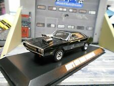 Dodge Charger R/T 1970 fast & The Furious dom s Black negro GreenLight 1:43