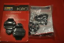 new look keo cleat covers + new black look keo cleats
