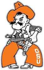 "Oklahoma State Cowboys NCAA Vinyl Car Bumper Window Sticker Decal 3""X6"""