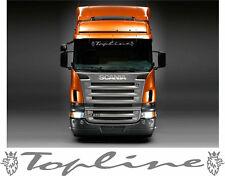 Topline Scania Griffin Camion Adesivo dello schermo per Camion CABINA PARABREZZA di vetro