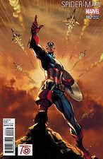 Spider-Man #2 1:50 J Scott Campbell Captain America 75th Variant 2016 ANAD