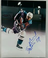 Miroslav Satan Signed Detroit Vipers IHL Photo W/COA